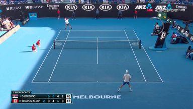 Djokovic through to fourth round
