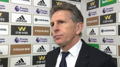 Puel: It's our own fault