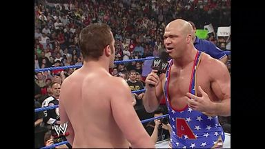 When Kurt Angle faced Roderick Strong!
