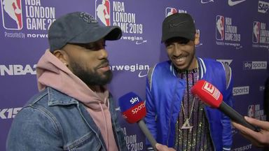 Big names turn out for NBA London