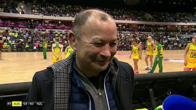 Jones takes in the netball