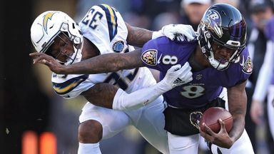 NFL Wildcard: Chargers @ Ravens