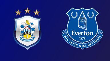Huddersfield v Everton