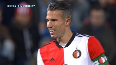 Van Persie turns back the years with stunning free-kick