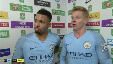 Jesus hits four in City rout