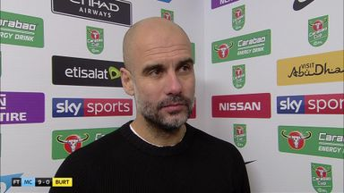 Pep: Burton should be proud