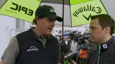 Mickelson surprised to go low