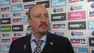 Benitez: Everybody has to be pleased