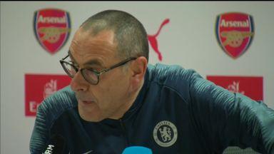 Sarri: Chelsea players lack fight