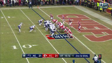 Patriots' winning overtime TD