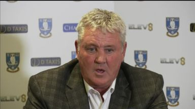 Bruce discusses Sheff Wed ambition