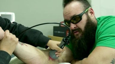 Strowman's physical therapy continues