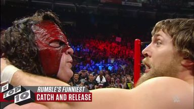 Royal Rumble Match's funniest moments