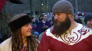 WWE Superstars marry in Viking ceremony!