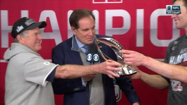 Belichick earns another AFC Championship