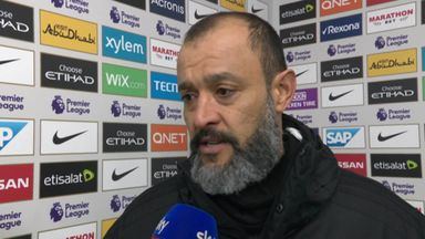 Nuno: It was a difficult night
