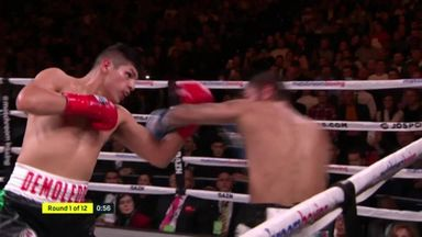 Linares stopped in 1st round