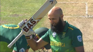 Amla completes 27th ODI hundred
