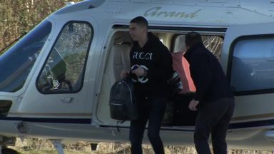 Almiron arrives in Newcastle