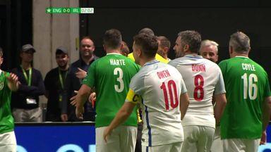 McAteer kicks out at Owen!