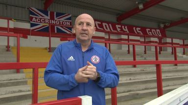 Accrington gear up for Lampard's Derby