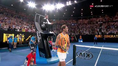 Nadal breezes into Aus Open final