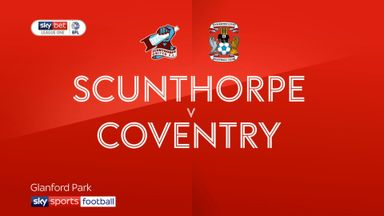Scunthorpe 2-1 Coventry