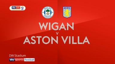 Wigan 3-0 Aston Villa