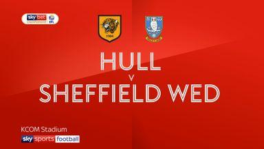 Hull City 3-0 Sheffield Wednesday