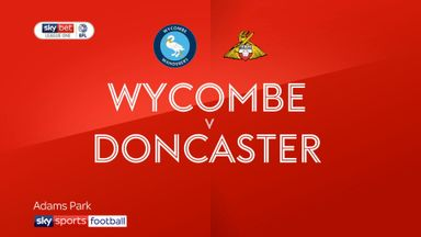 Wycombe 3-2 Doncaster