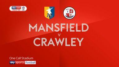 Mansfield 1-0 Crawley