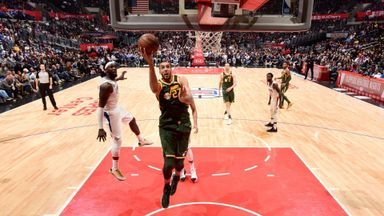 Clippers 109-129 Jazz