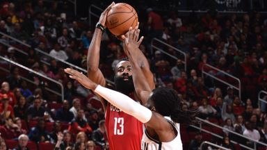 Harden goes past 50 again