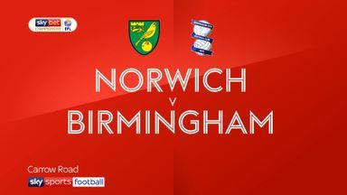 Norwich 3-1 Birmingham