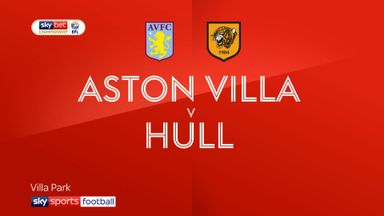 Aston Villa 2-2 Hull