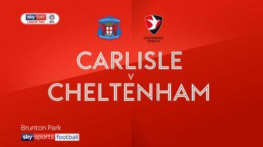 Carlisle 2-0 Cheltenham