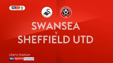 Swansea 1-0 Sheffield United