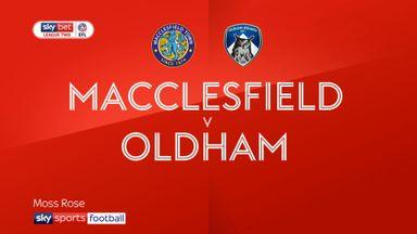 Macclesfield 2-1 Oldham