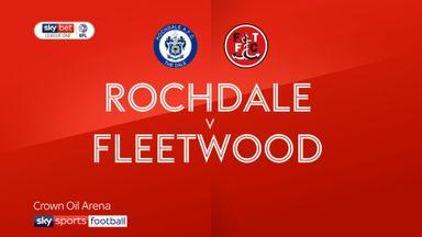 Rochdale 1-1 Fleetwood