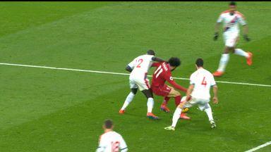 Did Salah dive?