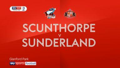 Scunthorpe 1-1 Sunderland