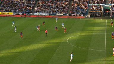 Sane goal (56) Huddersfield 0-3 Man City