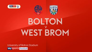 Bolton 0-2 West Brom