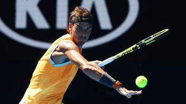 Nadal beats Berdych to reach Aus Open QF