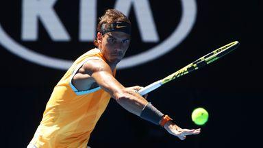 Nadal beats Berdych to reach AUS Open QF