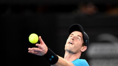 World of tennis reacts to Murray