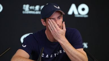 Murray: I've been in pain for 20 months