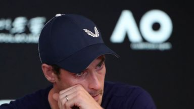 Tearful Murray fears career is over