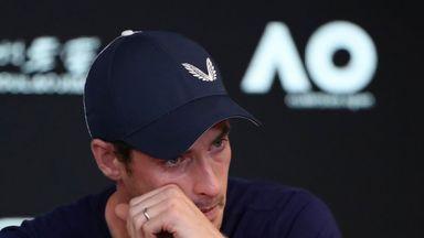 Tearful Murray fears career is over