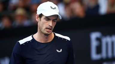 Murray concerned over lack of courts